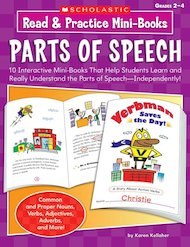Read & Practice Mini-Books: Parts of Speech