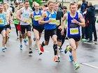 First London marathon