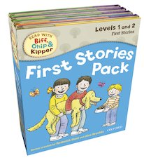 Read with Biff, Chip and Kipper: First Stories Pack