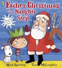 Father Christmas on the Naughty Step