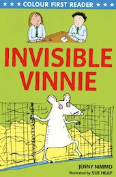 Colour First Reader: Invisible Vinnie