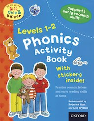 Read with Biff, Chip and Kipper: Phonics Activity Book (Levels 1-2)