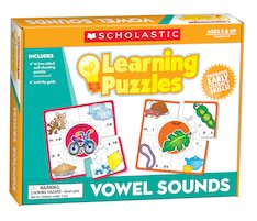 Vowel Sounds Learning Puzzle