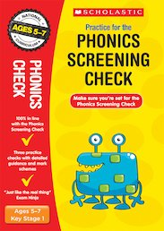 National Curriculum SATs Tests: Practice for the Phonics Screening Check x 6