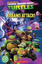 Teenage Mutant Ninja Turtles: Kraang Attack! (Book and CD)