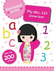 My abc, 123 Sticker Book