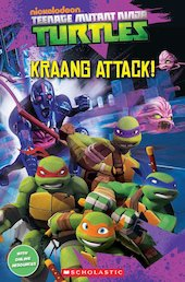 Teenage Mutant Ninja Turtles: Kraang Attack! (Book only)
