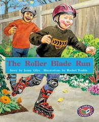 Roller Blade Run (PM Storybooks) Level 19