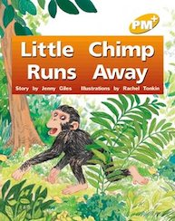 Little Chimp Runs Away (PM Plus) Level 6