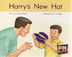 PM Blue: Harry's New Hat (PM Gems) Level 10 x 6