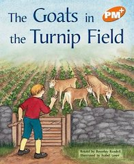 PM Orange: The Goats in the Turnip Field (PM Plus Storybooks) Level 15 x 6