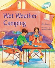 PM Turquoise: Wet Weather Camping (PM Plus Storybooks) Level 18 x 6