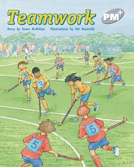 PM Silver: Teamwork (PM Plus Storybooks) Level 24 x 6