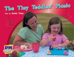 PM Red: The Tiny Teddies Picnic (PM Photo Stories) Level 5 x 6
