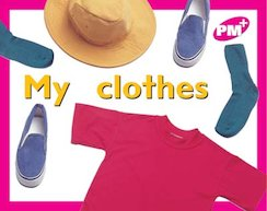 PM Magenta: My Clothes (PM Plus Starters) Level 2 x 6