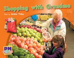 PM Blue: Shopping with Grandma (PM Photo Stories) Level 10 x 6