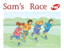 PM Red: Sam's Race (PM Plus Storybooks) Level 4 x 6