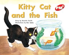 PM Red: Kitty Cat and the Fish (PM Plus Storybooks) Level 5 x 6