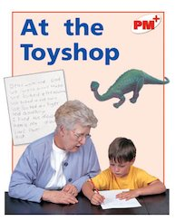 PM Red: At the Toyshop (PM Plus Non-fiction) Levels 5, 6 x 6