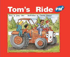PM Blue: Tom's Ride (PM Plus Storybooks) Level 11 x 6