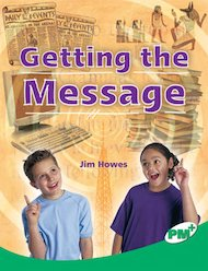 PM Emerald: Getting the Message (PM Plus Non-fiction) Levels 25, 26 x 6