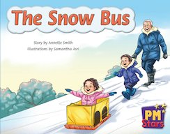 PM Blue: The Snow Bus (PM Stars) Level 10 x 6