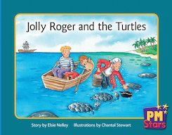 PM Blue: Jolly Roger and the Turtles (PM Stars) Level 11 x 6