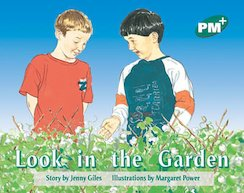 Look in the Garden (PM Plus Storybooks) Level 12