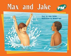 PM Green: Max and Jake (PM Plus Storybooks) Level 12 x 6