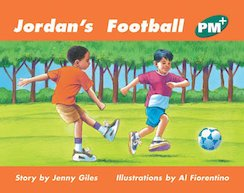 PM Green: Jordan's Football (PM Plus Storybooks) Level 12 x 6