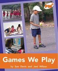 Games We Play (PM Plus Non-fiction) Level 16, 17