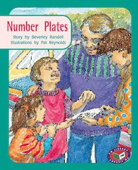 Number Plates (PM Storybooks) Levels 17, 18