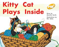 Kitty Cat Plays Inside (PM Plus Storybooks) Level 8