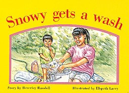 Snowy Gets a Wash (PM Storybooks) Level 8