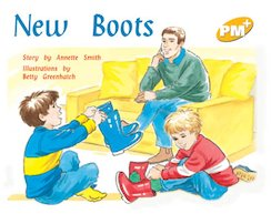PM Yellow: New Boots (PM Plus Storybooks) Level 7 x 6