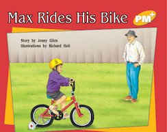 PM Yellow: Max Rides His Bike (PM Plus Storybooks) Level 8 x 6