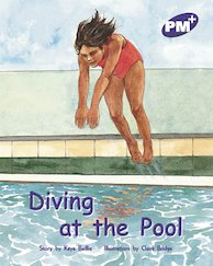 PM Purple: Diving at the Pool (PM Plus Storybooks) Level 20 x 6