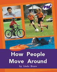 PM Purple: How People Move Around (PM Plus Non-fiction) Levels 20, 21 x 6