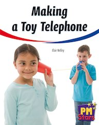 PM Yellow: Making a Toy Telephone (PM Stars) Levels 8, 9 x 6