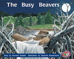 PM Orange: The Busy Beavers (PM Storybooks) Level 16 x 6