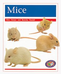 PM Orange: Mice (PM Non-fiction) Levels 15, 16 x 6