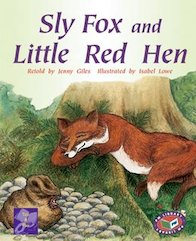 PM Purple: Sly Fox and the Little Red Hen (PM Traditional Tales and Plays) Levels 19, 20 x 6