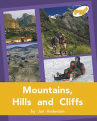PM Gold: Mountains, Hills and Cliffs (PM Plus Non-fiction) Levels 22, 23 x 6