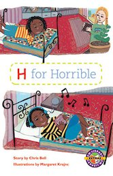 H for Horrible (PM Extras Chapter Book) Levels 29, 30