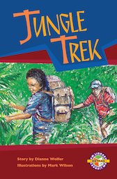 Jungle Trek (PM Extras Chapter Book) Level 29/30