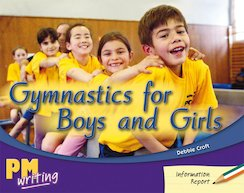 Gymnastics for Boys and Girls (PM Green/Orange) Levels 14, 15