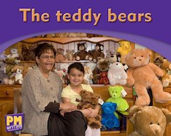 The Teddy Bears (PM Magenta) Levels 1, 2