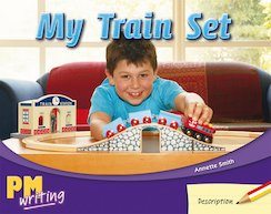 PM Writing 1: My Train Set (PM Red/Yellow) Levels 5, 6 x 6