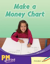 PM Writing 2: Make a Money Chart (PM Green/Orange) Levels 14, 15 x 6
