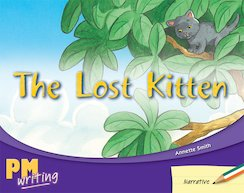 PM Writing 2: The Lost Kitten (PM Green/Orange) Levels 14, 15 x 6